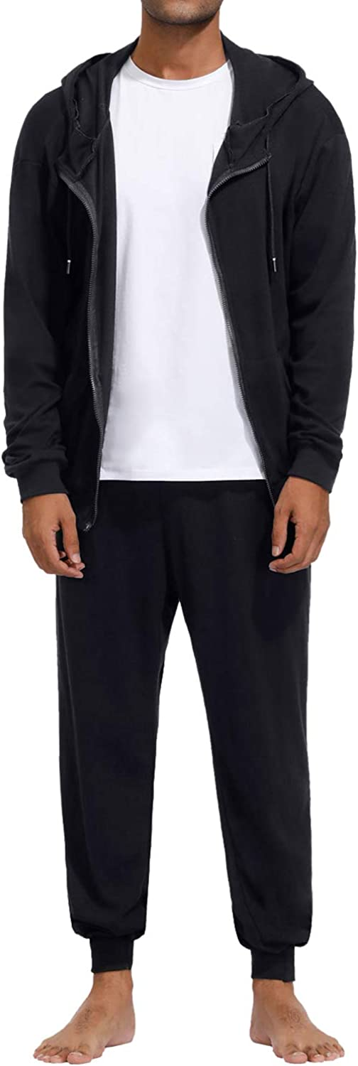 Mens Outfits quality assurance Tracksuit 2PCS free shipping Set Long Sleeve Sw Hooded Zip Jacket