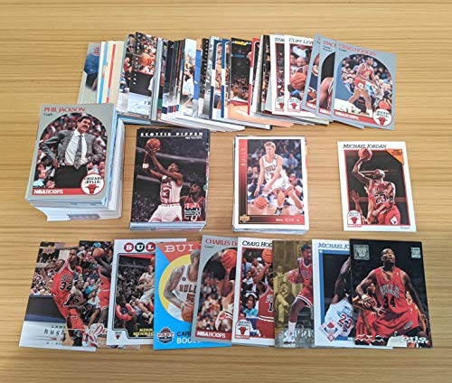 500 Basketball Cards Including Rookies, Many Stars, Hall-of-famers. Chicago Bulls Special! Featuring Michael Jordan, Scottie Pippen, a Pack and More!
