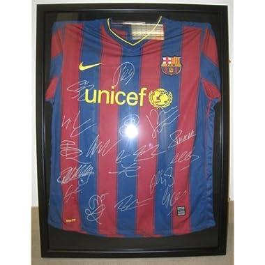 UV Protection Baseball/Football Jersey Frame Display Case Shadow Box, BLACK (JC04-BL)