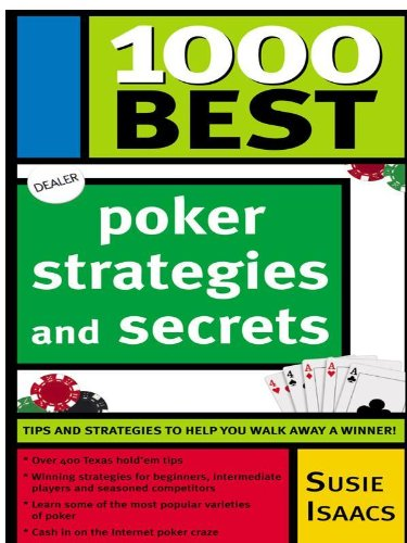 1000 Best Poker Strategies and Secrets (English Edition)