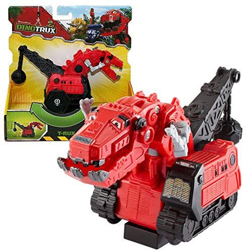 Dinotrux Auswahl Rückzieh-Fahrzeuge Kunststoff Modelle | Mattel CJV90, Figuren:T-Rux