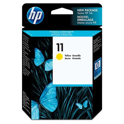 Ink cartridge Original HP 1x Yellow C4838A / Nr 11 for HP Business InkJet 2800 DTN