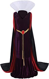 Women's Dress for Snow White Evil Queen Cosplay Costume