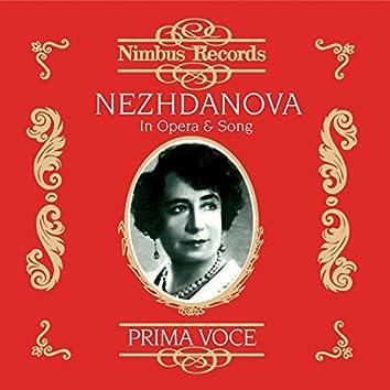 Nezhdanova in Opera and Song (Recorded 1906 - 1939)