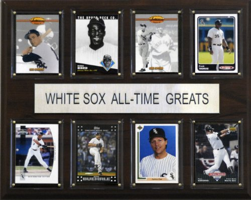 Chicago White Sox plague wall art all time great players