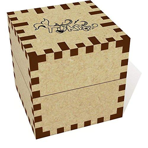 Azeeda Petit 'Thon' boîte de Bague (JB00009202)