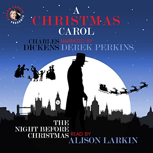 A Christmas Carol and The Night Before Christmas audiobook cover art