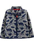 Simple Joys by Carter's Boys' Toddler Full-Zip Fleece Jacket, Dino, 5T