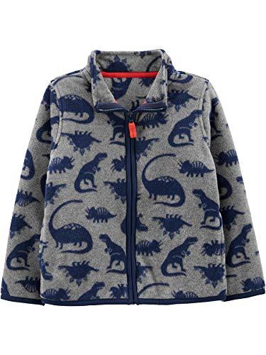 Simple Joys by Carter's Full-Zip Jacket Fleece-Outerwear-Jackets, Dino, 4T