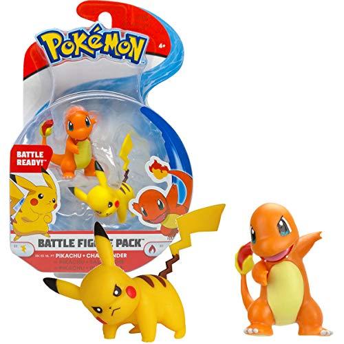 Pikachu & Salamèche