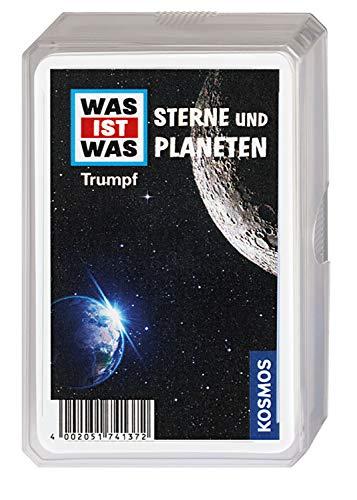 Kosmos 741372 - WAS IST WAS Sterne und Planeten, Trumpf-Kartenspiel