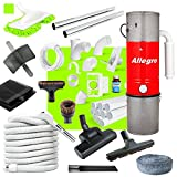 Central Vacuum Complete Air Package with Allegro Unit 3 Inlet Kit