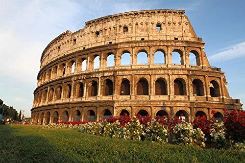 Piezas Puzzles Puzzles Puzzles 3D El Coliseo De Roma Adultos 1000 Piezas Rompecabezas De Madera Mundo Famoso Edificio Paisaje Rompecabezas 1000 Piezas Rompecabezas