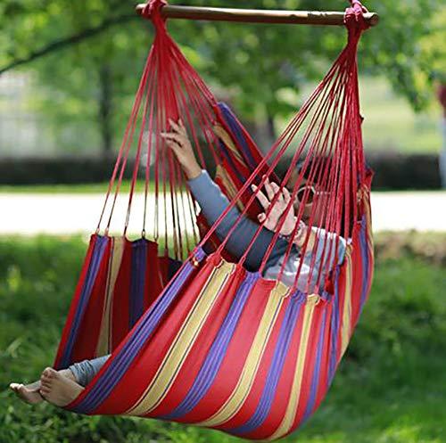 SHR-GCHAO Détendez-Vous Hanging Balancelle, Durabilité Parfait pour Intérieur/Extérieur Accueil Chambre Patio Terrasse Jardin Gardenoutdoor, Jardin (130 * 100 * 80Cm)