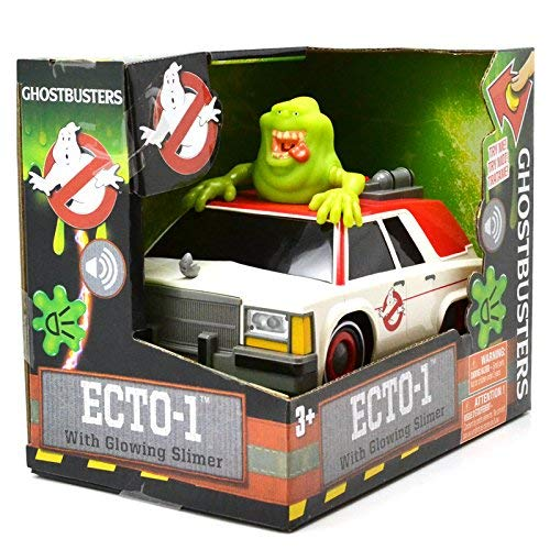 Image of the NKOK Ghostbusters Animated B/O Ecto1 with Slimer B/O 1, Ghost Catcher