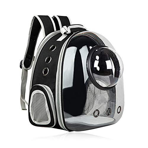 AJY Cat Carrier Dog Carrier Backpack, Pet Carrier Back Pack Pack for Small Medium Cat Puppy Doggie, Dog Body Carrying Bag Travel Space Capsule for...