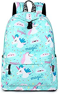 Women Backpack Unicorn Cute School Printing Backpack Bookbag School Bags For Teenage Girls Mochila Travel Softback Polyester Cute Women Girl School Shoulder Bag Backpack Causal Laptop Bag