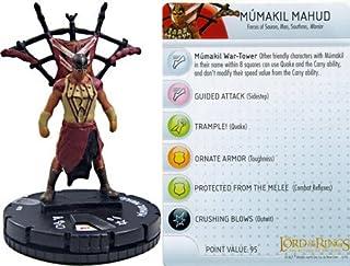 Lord of the Rings Heroclix Return of the King Mumakil Mahud #010