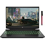 HP Pavilion 15 15.6' FHD Business Gaming Laptop Computer_ AMD Ryzen 5 4600H Hexa-Core (Beats i5-10300H)_ 8GB DDR4 RAM_ 256GB PCIe SSD_ NVIDIA GeForce GTX 1650_ Windows 10 Pro_ BROAGE 64GB Flash Drive