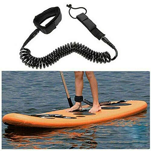 ConPush Surf Sicherheitsfuß Seil Fußschlaufe Surfbrett Knöchel Leine Seil, Wasserski Fußseil, Lebensrettende elastische Fußseil