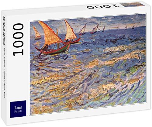 Lais Puzzle Vincent Willem Van Gogh - Il Mare Vicino a Saintes-Maries 1000 Pezzi