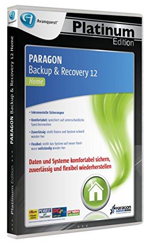 Preisvergleich Produktbild Paragon Backup & Recovery 12 - Avanquest Platinum Edition