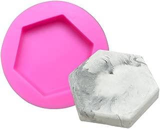 Jullyelegant 8 Stampo per Sapone cilindrico Continuo in Silicone Stampo per Sapone Fatto a Mano Stampo per Sapone Ovale Fai da Te Marrone