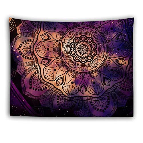 Estilo étnico tapiz colgando paño de pared decoración de la cama de la cabecera Dormitorio de la tela de fondo de tapicería-Color foto_75 * 95cm