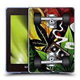 Head Case Designs Raggae Skateboards Soft Gel Handyhülle/Hülle kompatibel mit Kindle Paperwhite 4...