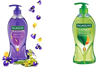 Palmolive Aroma Absolute Relax Body Wash - 750ml and Palmolive Aroma Morning Tonic Body Wash - 750ml