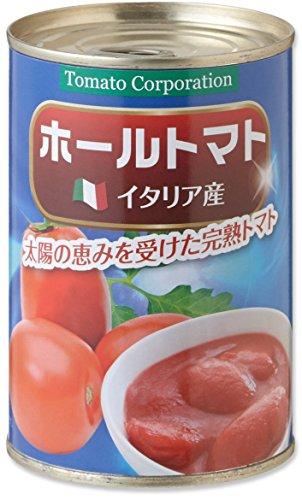 トマトコーポレーション ホールトマト 400g