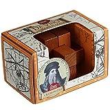 Da Vinci's Cross Puzzle: Professor Puzzle Great Minds Mini Wooden Puzzle