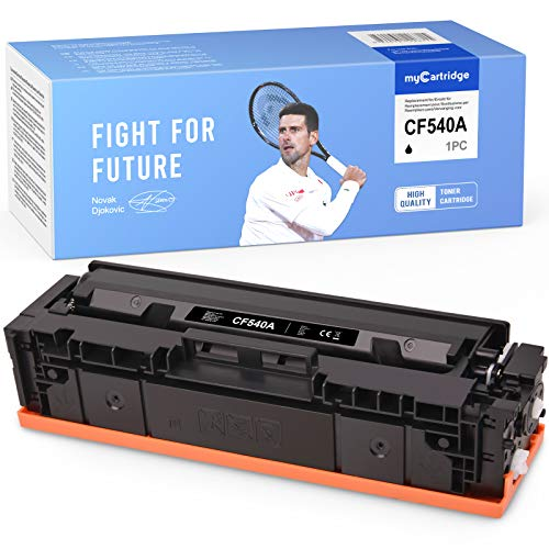 MyCartridge kompatibel HP 203A CF540A Schwarz Toner für HP Color Laserjet Pro M281fdw M281fdn M280nw M254nw M254dw
