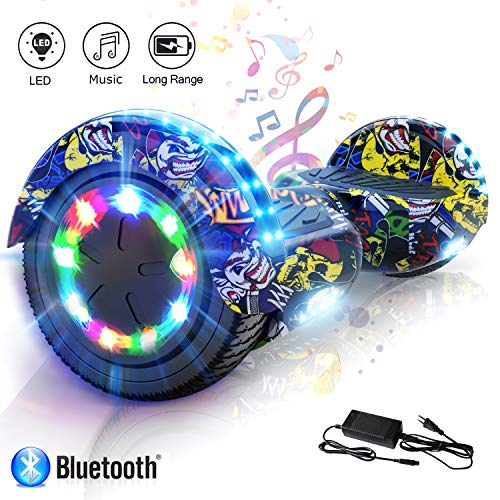 COLORWAY Hoverboard Elettrico App Scooter a 8 Pollici...