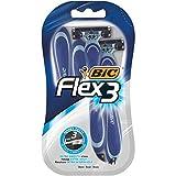 Bic Rasoirs Bic Flex 3 für 4 Einwegrasierer für Männer Shave Extra-Gentle (3er-Set entweder 12 Shavers) 1
