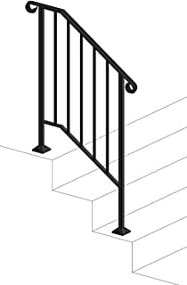 DIY Iron X Handrail Picket #2 Fits 2 or 3 Steps