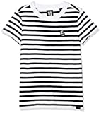 Scotch & Soda R´Belle Brutus AMS Blauw Colab Stripe tee with Chest Embroidery Camiseta, ((Combo A 21), 152 (Talla del Fabricante: 12) para Niñas