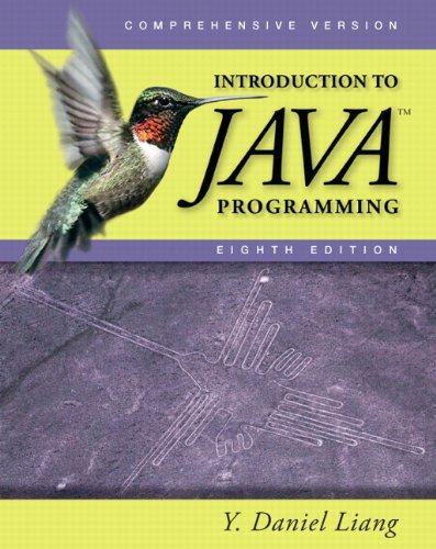 Introduction to Java Programming: Comprehensive Version