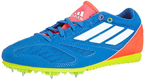 adidas Performance Arriba 4 XJ B26851, Unisex - Kinder Laufschuhe, Mehrfarbig (Bright Royal/Ftwr White/Solar Red), 35 EU (2.5 Kinder UK)