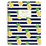 2020-2021 Planner - Academic Weekly & Monthly Planner, Jul 2020 - Jun 2021, 7.65' x 9.85', Strong Twin- Wire Binding, to-Do List, Round Corner, Improving Your Time Management Skill