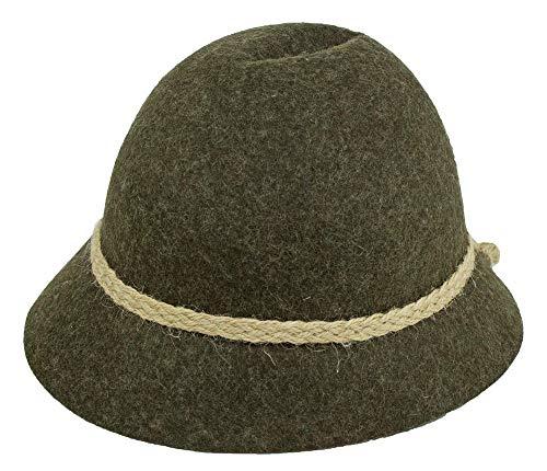 Isar-Trachten Hut für Kinder - Braun Gr. 55