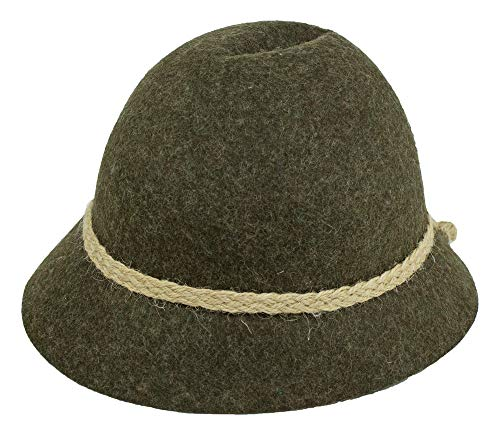 Isar-Trachten Hut für Kinder - Braun Gr. 51