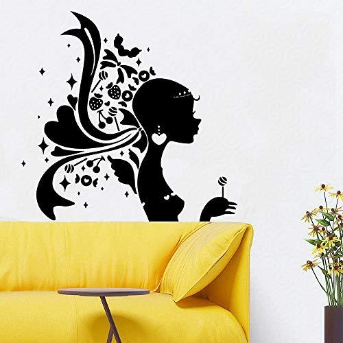 yaonuli Nagel schoonheid muur sticker schoonheidssalon verwijderbare kunst decal meisje slaapkamer decoratie muurschildering