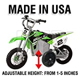BYP_MFG_INC Adjustable Height Razor SX500 SX 500 Kids Youth Training Wheels ONLY