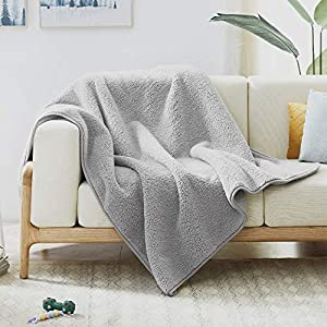 Waterproof Blanket 78 X 55 Inches for Couch, Chairs, Car, or Bed, Machine Washable 3 Layer Waterproof Furniture Protector for Adults, Pets, Dogs & Cats