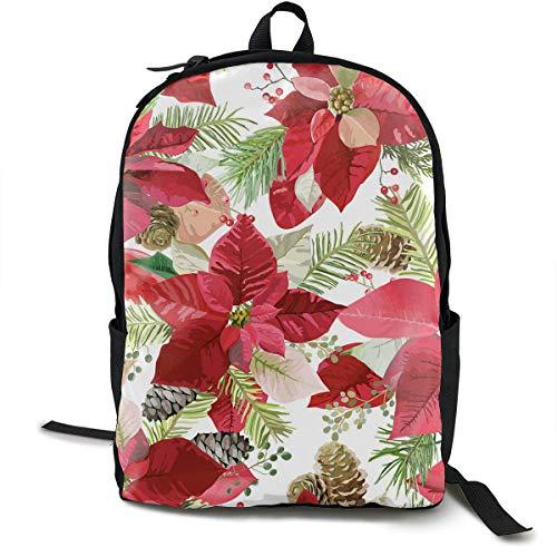 IUBBKI Mochila escolar casual mochila portátil bolsas