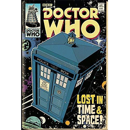 GB Eye Poster Doctor Who, Tardis Comic, 61 x 91,5 cm