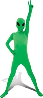 "Morphsuits Glow Alien Kids Fancy Dress Costume - size Medium 3'6""-3'11"" (105cm - 119cm)"