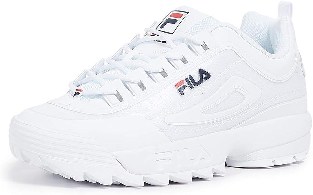 Fila - sneakers distruptor ii sneakers per donna in pelle scamosciata PNSM316