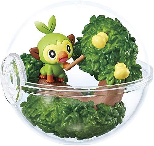 Banda Pokemon Terrarium Mini Diorama Figure in Pokeball EX Galar Region~#4 sarunori Grookey